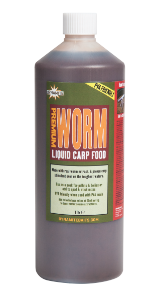Dynamite Baits Liquid Carp Food Worm 1L