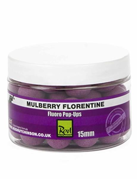 Rod Hutchinson Fluoro Pop Ups Mulberry Florentine with Protaste Plus 15mm