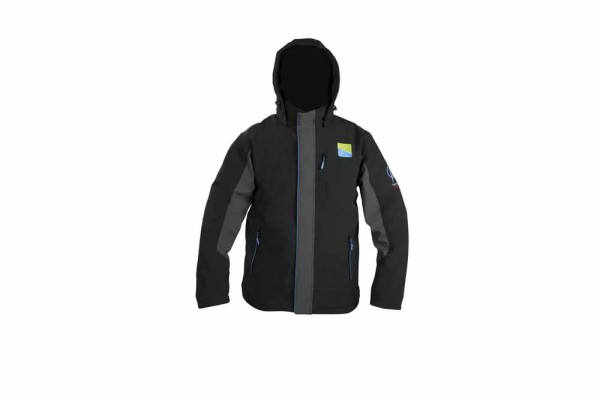 Preston Soft Shell Hooded Fleece Jacket - Large