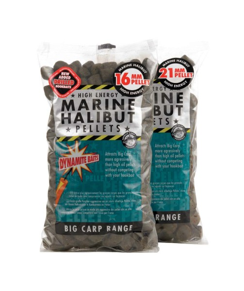 Dynamite Baits Marine Halibut Pellets 16mm 900g