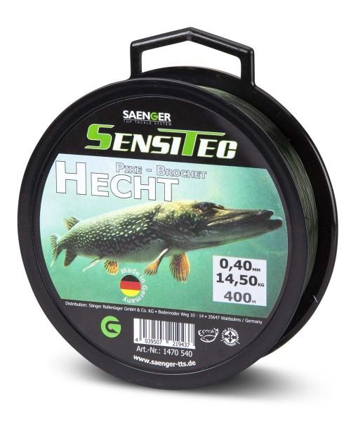 Sensitec Hecht Dunkelgrün 400m 0,35mm 10,90kg
