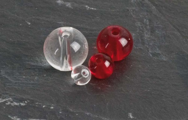 Iron Claw Class Beads red 4mm