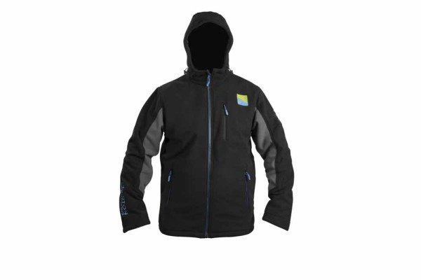 Preston Windproof Hooded Fleece - Medium