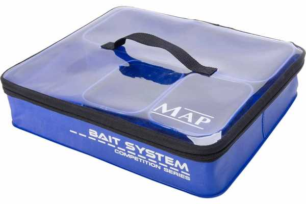 MAP Large EVA Bait System Set