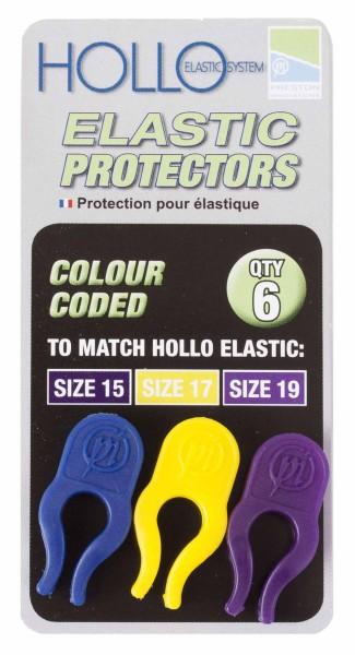 Preston Hollo Elastic Protector - Blue/Yellow/Purple
