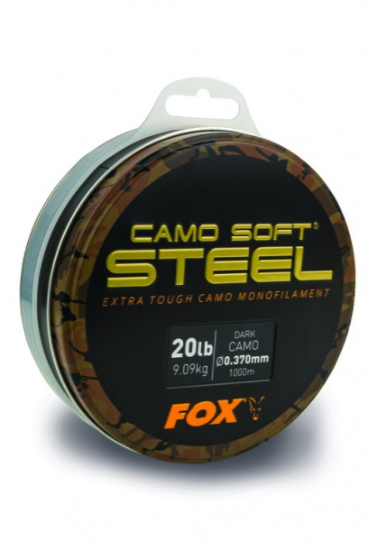 Fox Edges Soft Steel Dark Camo 0.350mm 18lb / 8.18kg 1000m