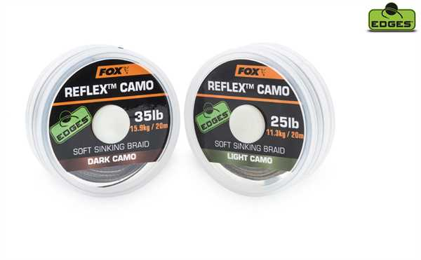 Fox Reflex Sinking Light Camo 15lb x 20m