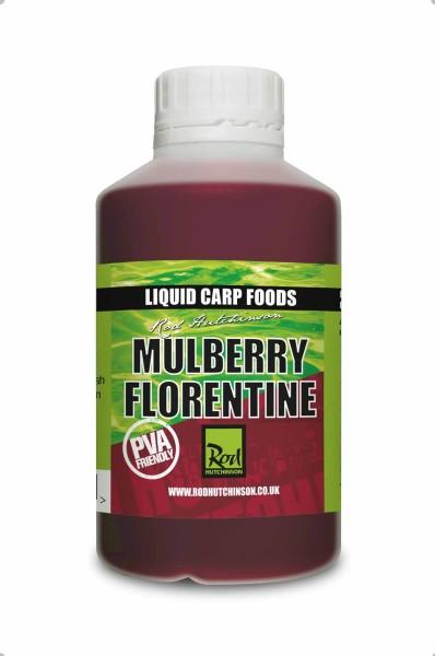 Rod Hutchinson Mulberry Florentine Liquid Carp Food 500ml