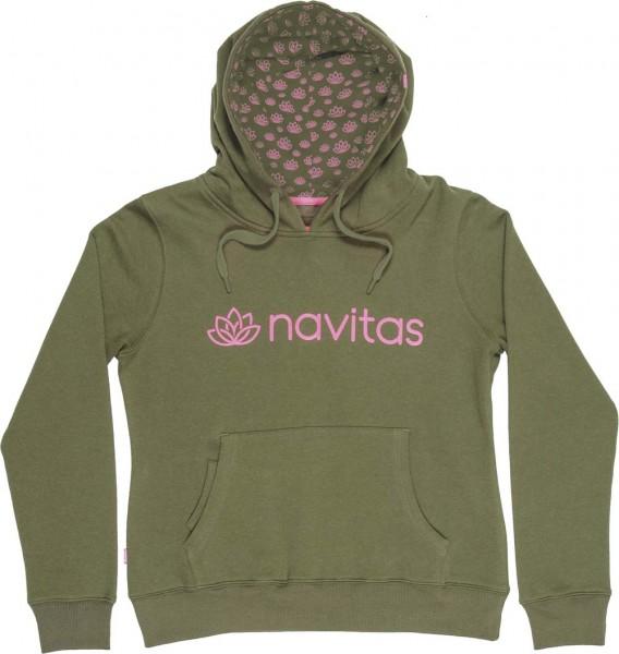 Navitas NTTH4618 Womens Hoody Green Gr. 2XL