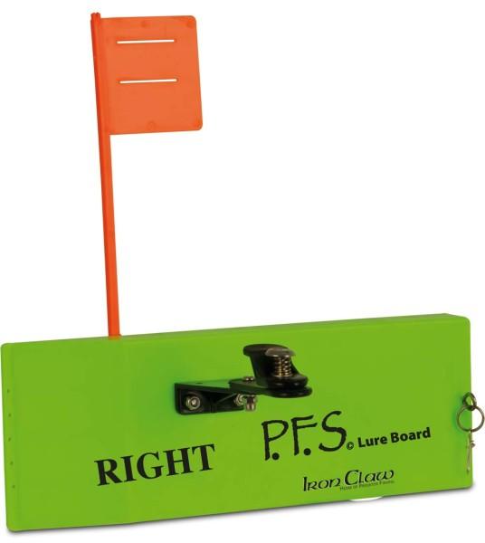 Iron Claw PFS Lure Board right