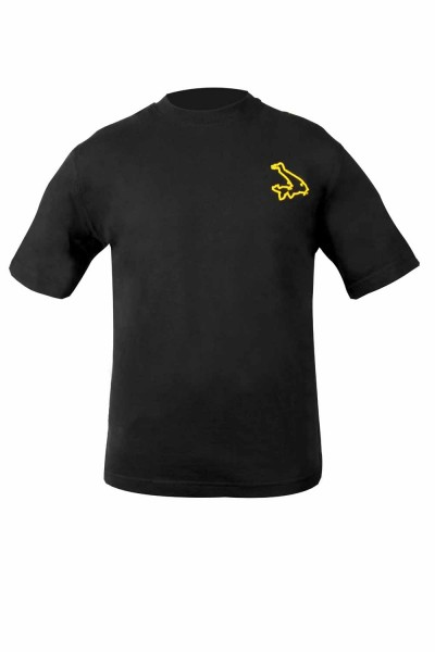 Avid Carp Black T-Shirt - Medium