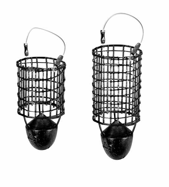 Preston Dutch Master Black Bullet Feeder - Medium Cage - 50G