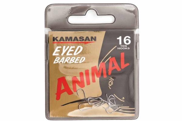 Kamasan Animal Eyed Barbed Gr.10