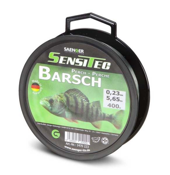Sensitec Barsch Steingrau 400m 0,26mm 6,20kg
