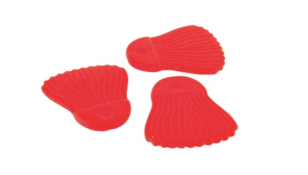Fox Rage Catfish Power Grip Bait Fins Red