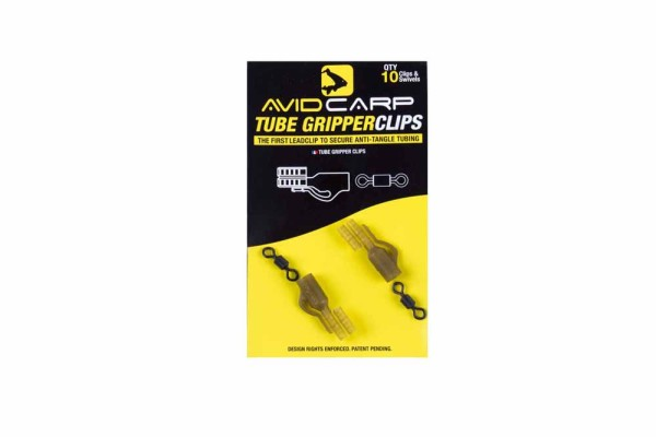 Avid Carp Tube Gripper Clips
