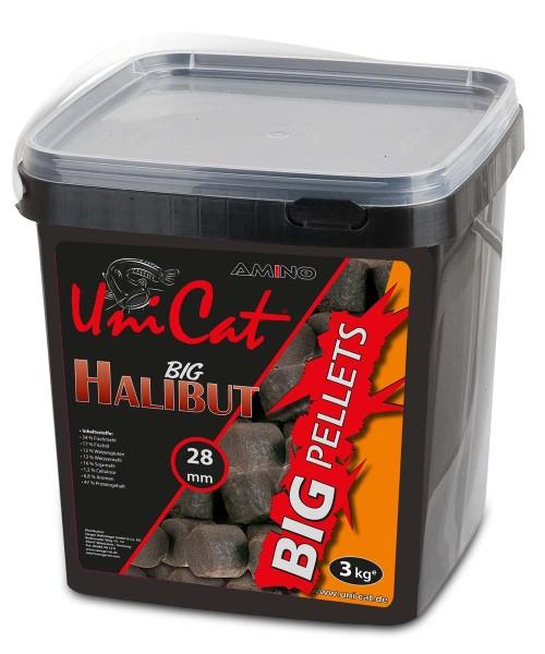 Uni Cat Amino HalibutBig Pellet 28mm ohne Loch