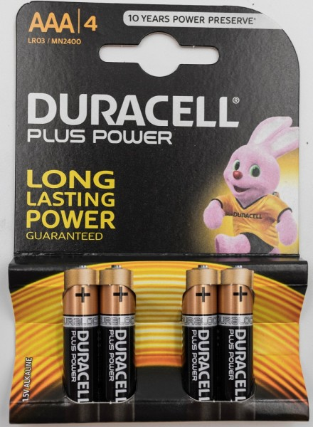Duracell Plus Micro AAA Batterie
