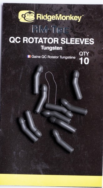 RidgeMonkey RM-TEC Quick Change Rotator Sleeves Tugston