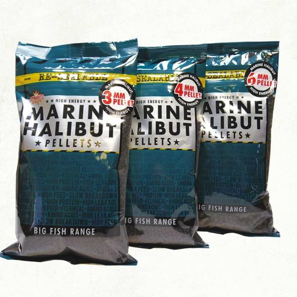 Dynamite Baits Marine Halibut Pellets 3mm 900g