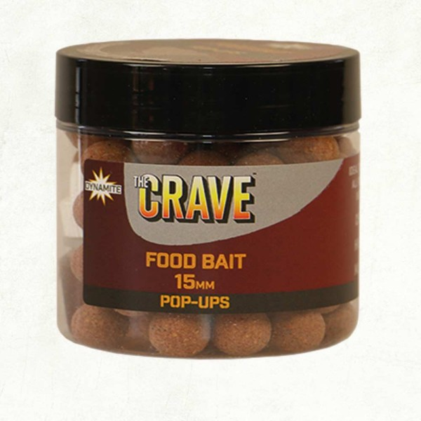 Dynamite Baits The Crave Pop Ups 15mm