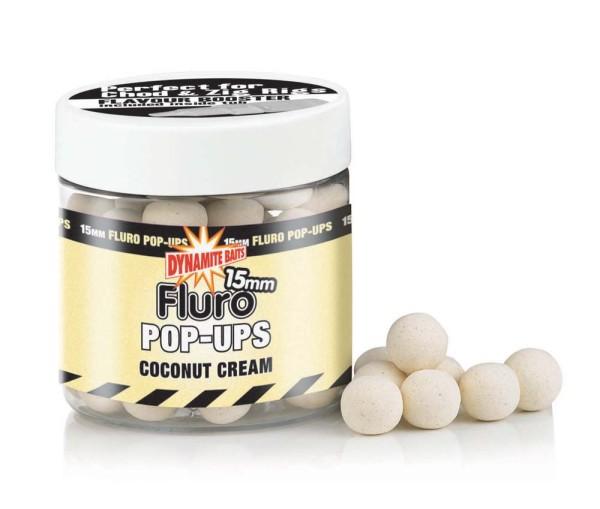 Dynamite Baits Fluro Pop Coconut Cream 15mm